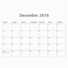 Rosie And Ben V2 By Lynne Schofield   Wall Calendar 11  X 8 5  (18 Months)   2720scfsjha8   Www Artscow Com Dec 2016