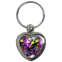 Colour Splash G264 Key Chains (heart)  by MedusArt