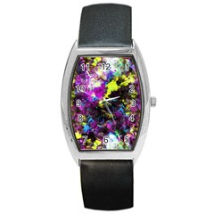 Colour Splash G264 Barrel Metal Watches by MedusArt