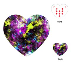 Colour Splash G264 Playing Cards (heart)  by MedusArt