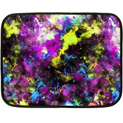 Colour Splash G264 Double Sided Fleece Blanket (mini)  by MedusArt