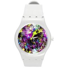 Colour Splash G264 Round Plastic Sport Watch (m) by MedusArt