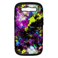 Colour Splash G264 Samsung Galaxy S III Hardshell Case (PC+Silicone) by MedusArt