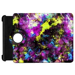 Colour Splash G264 Kindle Fire Hd Flip 360 Case by MedusArt