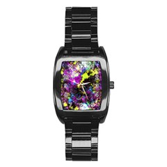 Colour Splash G264 Stainless Steel Barrel Watch by MedusArt