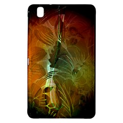 Beautiful Abstract Floral Design Samsung Galaxy Tab Pro 8 4 Hardshell Case by FantasyWorld7