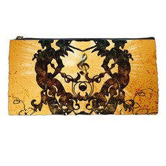 Clef With Awesome Figurative And Floral Elements Pencil Cases by FantasyWorld7