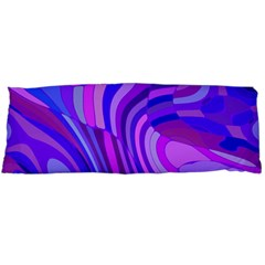 Retro Abstract Blue Pink Body Pillow Cases Dakimakura (two Sides)  by ImpressiveMoments