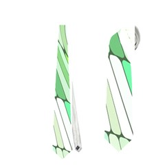 Retro Abstract Green Neckties (two Side)