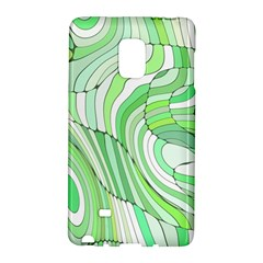 Retro Abstract Green Galaxy Note Edge by ImpressiveMoments