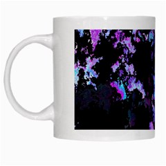 Splatter Blue Pink White Mugs by MoreColorsinLife