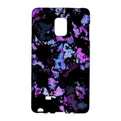 Splatter Blue Pink Galaxy Note Edge by MoreColorsinLife
