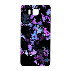 Splatter Blue Pink Samsung Galaxy Alpha Hardshell Back Case by MoreColorsinLife