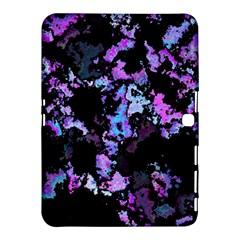 Splatter Blue Pink Samsung Galaxy Tab 4 (10 1 ) Hardshell Case  by MoreColorsinLife