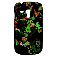 Splatter Red Green Samsung Galaxy S3 Mini I8190 Hardshell Case by MoreColorsinLife
