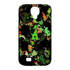 Splatter Red Green Samsung Galaxy S4 Classic Hardshell Case (pc+silicone) by MoreColorsinLife