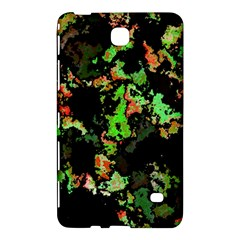 Splatter Red Green Samsung Galaxy Tab 4 (7 ) Hardshell Case  by MoreColorsinLife
