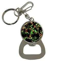 Splatter Red Green Bottle Opener Key Chains by MoreColorsinLife