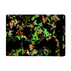 Splatter Red Green Apple Ipad Mini Flip Case by MoreColorsinLife