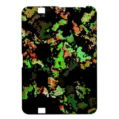 Splatter Red Green Kindle Fire Hd 8 9  by MoreColorsinLife