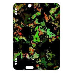 Splatter Red Green Kindle Fire Hdx Hardshell Case by MoreColorsinLife