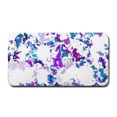 Splatter White Lilac Medium Bar Mats by MoreColorsinLife