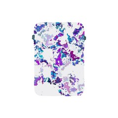 Splatter White Lilac Apple Ipad Mini Protective Soft Cases by MoreColorsinLife