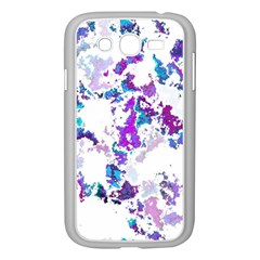 Splatter White Lilac Samsung Galaxy Grand Duos I9082 Case (white) by MoreColorsinLife