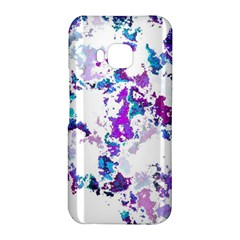 Splatter White Lilac HTC One M9 Hardshell Case by MoreColorsinLife