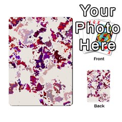 Splatter White Multi Purpose Cards (rectangle)