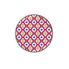 Honeycomb In Rhombus Pattern Hat Clip Ball Marker (10 Pack) by LalyLauraFLM