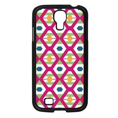 Honeycomb In Rhombus Pattern Samsung Galaxy S4 I9500/ I9505 Case (black) by LalyLauraFLM