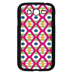 Honeycomb In Rhombus Pattern Samsung Galaxy Grand Duos I9082 Case (black) by LalyLauraFLM