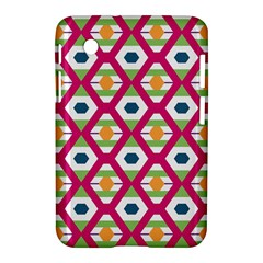 Honeycomb In Rhombus Pattern Samsung Galaxy Tab 2 (7 ) P3100 Hardshell Case  by LalyLauraFLM