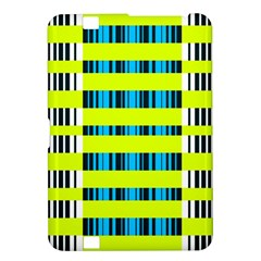 Rectangles And Vertical Stripes Pattern Kindle Fire Hd 8 9  Hardshell Case by LalyLauraFLM
