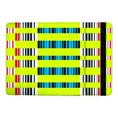 Rectangles And Vertical Stripes Pattern	samsung Galaxy Tab Pro 10 1  Flip Case by LalyLauraFLM