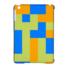 Tetris Shapes Apple Ipad Mini Hardshell Case (compatible With Smart Cover) by LalyLauraFLM