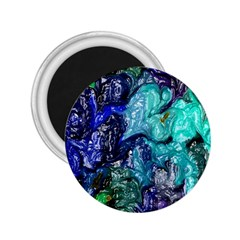 Strange Abstract 1 2.25  Magnets by MoreColorsinLife