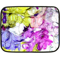 Strange Abstract 2 Soft Double Sided Fleece Blanket (mini)  by MoreColorsinLife