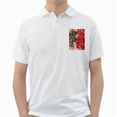 Strange Abstract 3 Golf Shirts by MoreColorsinLife