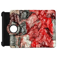 Strange Abstract 3 Kindle Fire HD Flip 360 Case by MoreColorsinLife