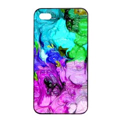 Strange Abstract 4 Apple Iphone 4/4s Seamless Case (black)