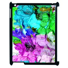 Strange Abstract 4 Apple Ipad 2 Case (black) by MoreColorsinLife