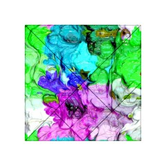 Strange Abstract 4 Acrylic Tangram Puzzle (4  X 4 ) by MoreColorsinLife