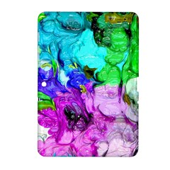 Strange Abstract 4 Samsung Galaxy Tab 2 (10.1 ) P5100 Hardshell Case  by MoreColorsinLife