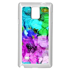 Strange Abstract 4 Samsung Galaxy Note 4 Case (White) by MoreColorsinLife