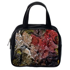 Strange Abstract 5 Classic Handbags (one Side) by MoreColorsinLife