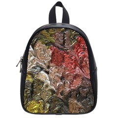 Strange Abstract 5 School Bags (small)  by MoreColorsinLife