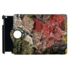 Strange Abstract 5 Apple Ipad 3/4 Flip 360 Case by MoreColorsinLife
