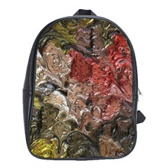 Strange Abstract 5 School Bags (xl)  by MoreColorsinLife